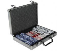 Набор для покера на 200 фишек в кейсе