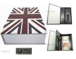 Книга сейф с кодовым замком Britain| 18см