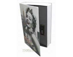 Книга сейф с кодовым замком Hollywood| 18см