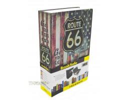 Книга сейф с кодовым замком ROUTE66| 18см