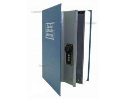 Книга сейф с кодовым замком The new english dictionary Blue| 18см