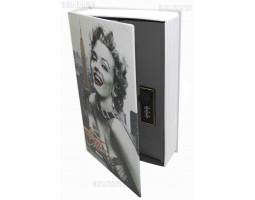 Книга сейф с кодовым замком  Hollywood| 24см