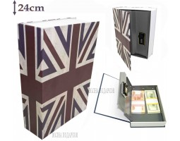 Книга сейф с кодовым замком  Britain| 24см