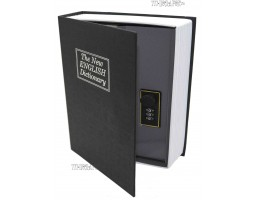 "Книга сейф ""БИЗНЕС""  с кодовым замком  ""The new english dictionary"" Black | 27см"