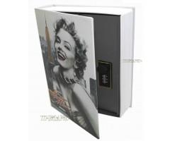 Книга сейф с кодовым замком Hollywood| 27см