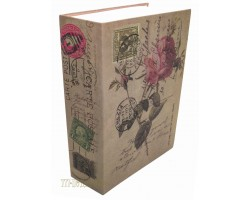 Книга сейф с кодовым замком Rose| 27см